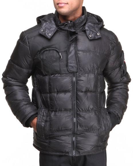 COOGI Black Coogi Nylon Puffer Jacket