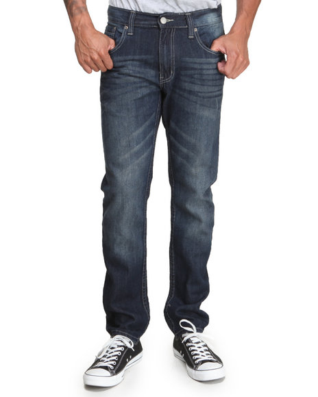 Enyce - Men Dark Wash Revolution Denim Jeans