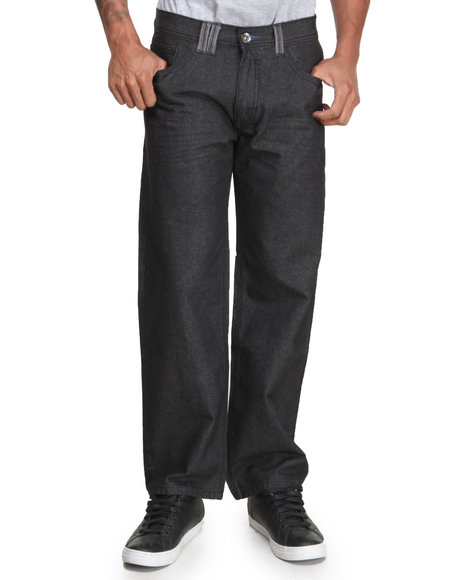 Coogi - Men Black Coogi Legacy Denim Jeans