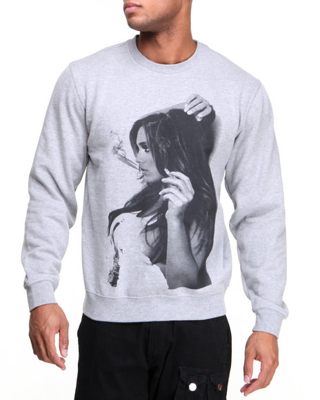 T.I.T.S. Grey Cig Break Crew Sweatshirt