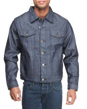 Men - Mo7 Dark Indigo Classic Denim Jacket