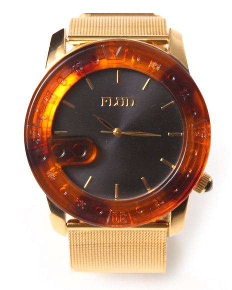 Flud Watches Men The Transfer Watch Gold 1SZ