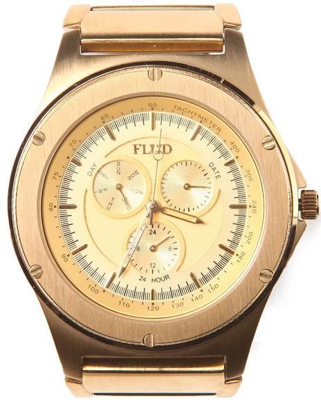 Flud Watches Men The Jax Watch Gold 1SZ