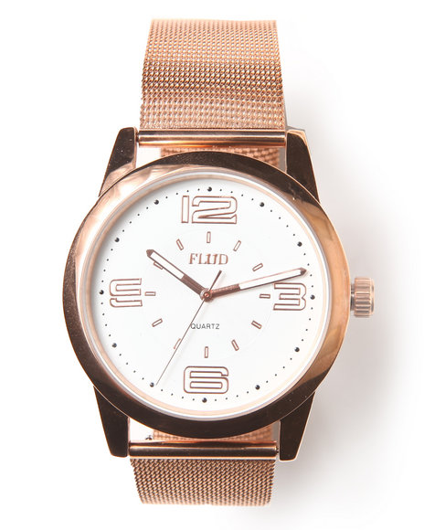 Flud Watches Men The Ludlow Watch Rose Gold 1SZ