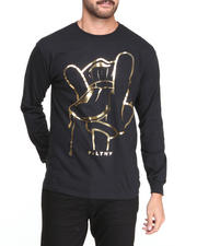 Men - Rocker Foil L/S T-Shirt