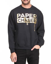 Filthy Dripped - Paper Chaser Foil Crew Sweater