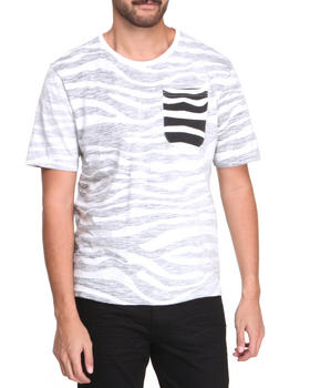 Under Two Flags - Zebra Reverse slub jersey Premium tee
