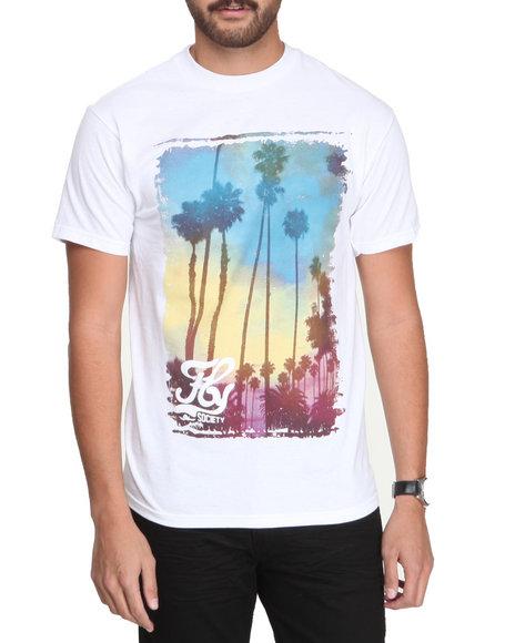 Flysociety White Palm T-Shirt