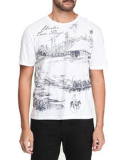 Men - Tropical Hutee Premium Tee