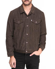 Men - Relaxed Trucker Soil Corduroy Jacket