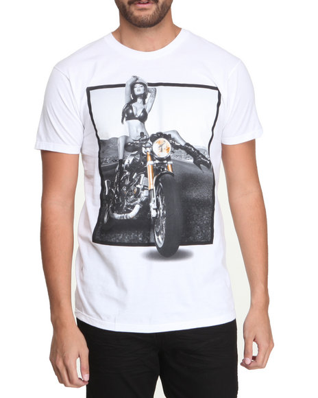 T.I.T.S. White Ride Or Die Tee