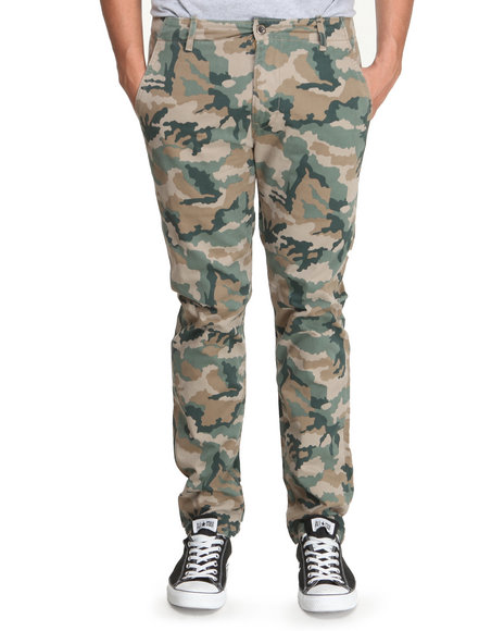 Levi's Camo Chino Regular Fit Gridley Camo Elmwood Pants