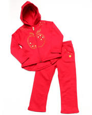 Apple Bottoms - 2 PC FLEECE SET (INFANT)