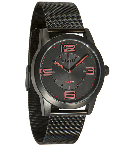 Flud Watches The Ludlow Watch Black