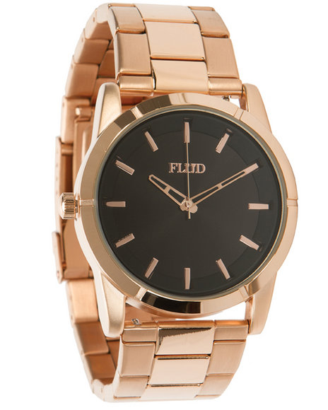 Flud Watches Men The Moment Watch Rose Gold 1SZ