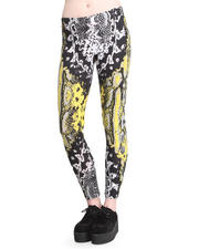 Women - Neon Scales Leggings