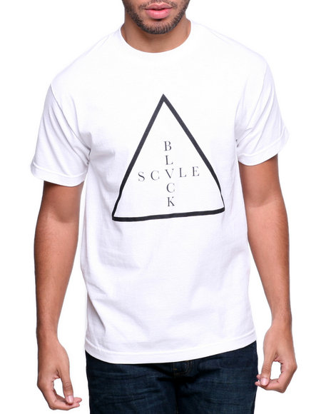 BLVCK SCVLE White Addition Tee
