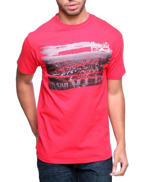 Flysociety Red Skyline T-Shirt