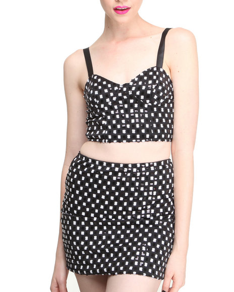 Motel Black Boo Bralet