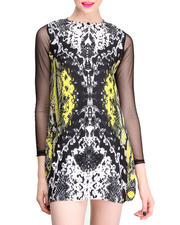 Women - Neon Scales Isabel Dress