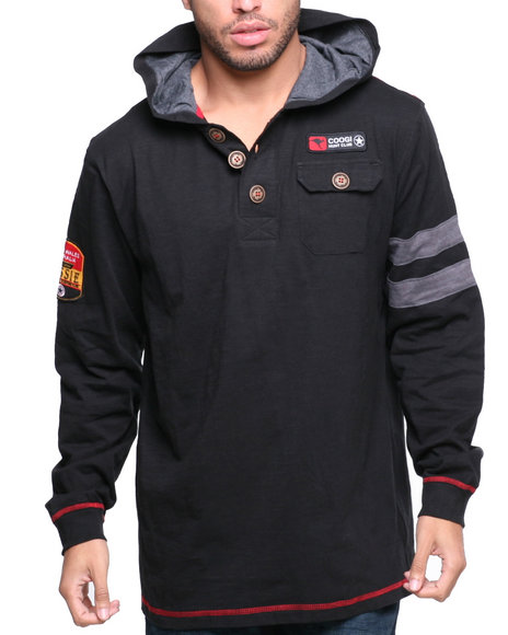 COOGI Black Coogi Ultimate Club Pullover Hoody