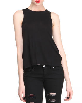 Basic Essentials - Low Front High Back Tank Top