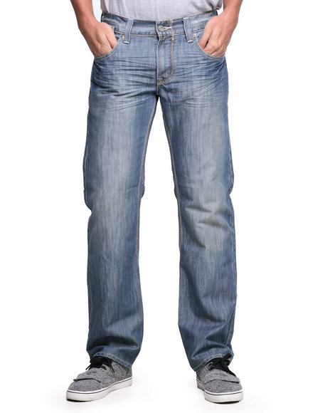 Levi's Medium Wash 514 Slim Straight Fit Welder Sail Jeans