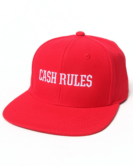 Crooks & Castles The Cream Snapback Red