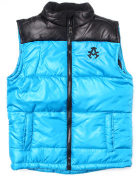 Akademiks - BRIGHT BUBBLE VEST (8-20)
