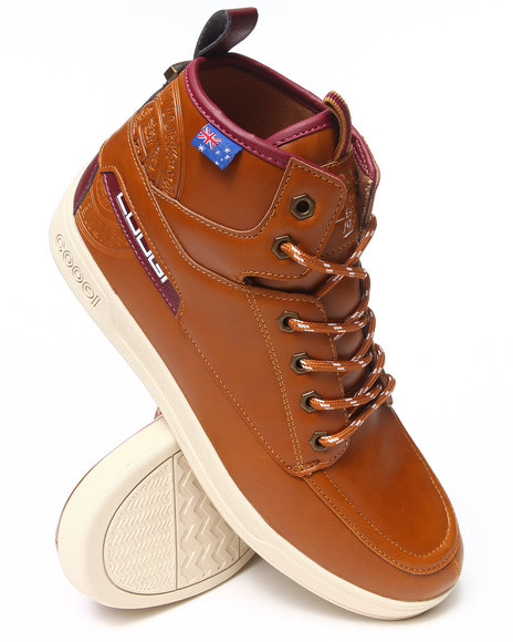 COOGI Tan Edmonds Lace-Up Boot