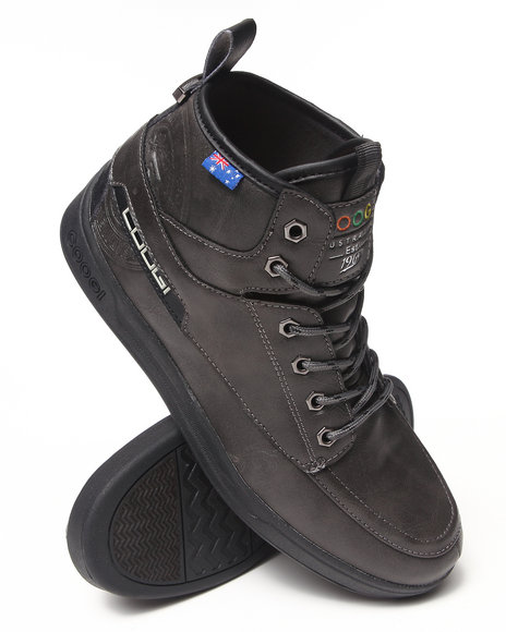 COOGI Charcoal Edmonds Lace-Up Boot