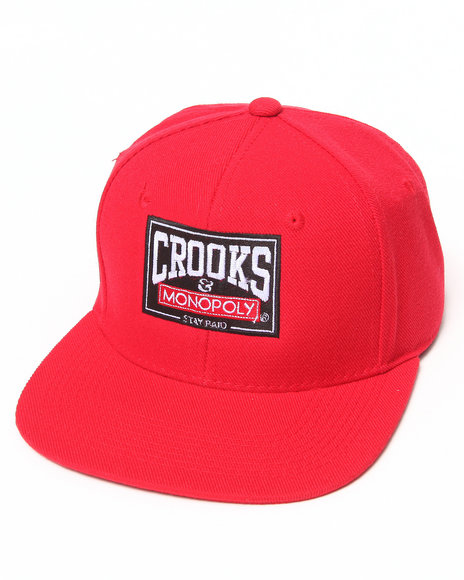 Crooks & Castles Men The Head Start Snapback Red