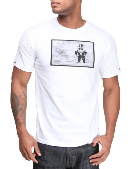 Crooks & Castles White The Pop Bottles T-Shirt
