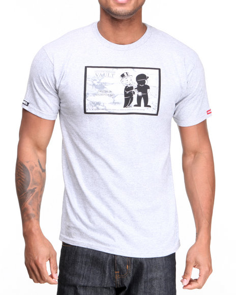 Crooks & Castles Grey The Come Up T-Shirt