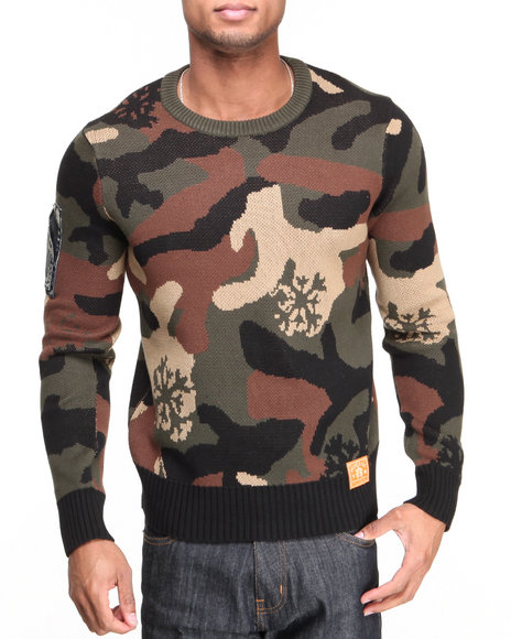 AKOO Camo Blizzard Sweater