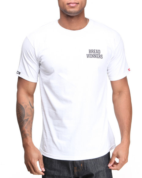 Crooks & Castles White The Bread Winners T-Shirt