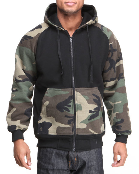 Camo Hoodie for Men