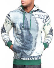 Holiday Shop - Men - Big Face Pullover Hoodie