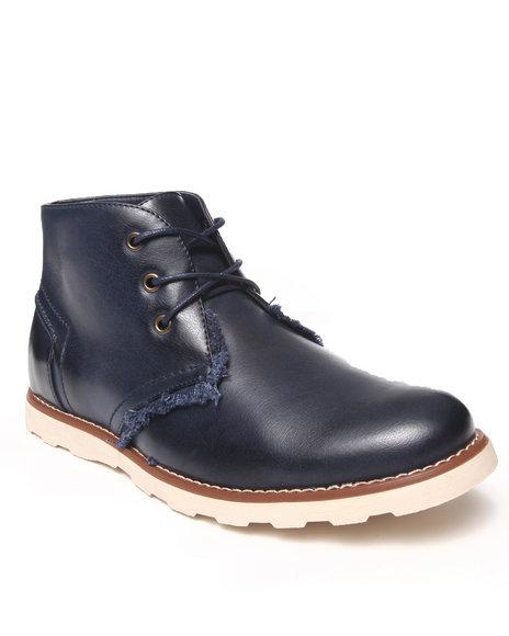 Buyers Picks - Men Navy Indie Hightop Shoe