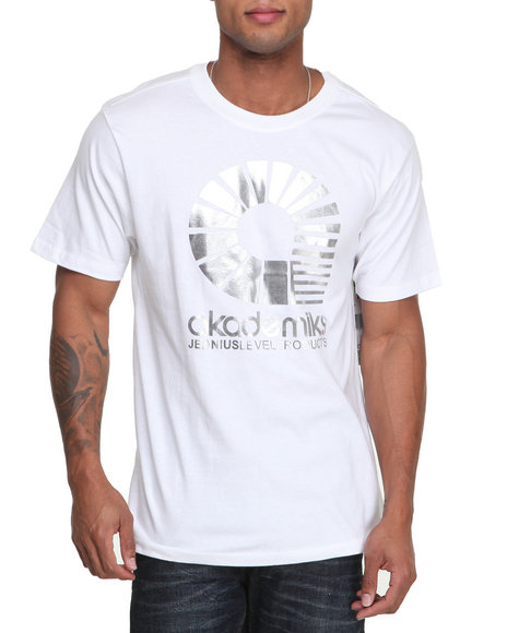 Akademiks - Men White Dex Tee - $17.99