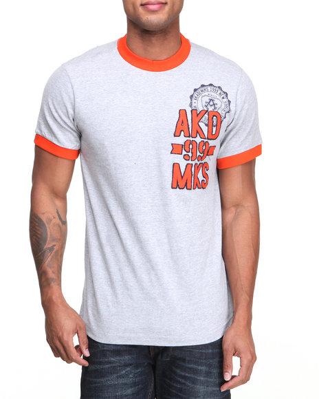Akademiks - Men Grey Skater Tee