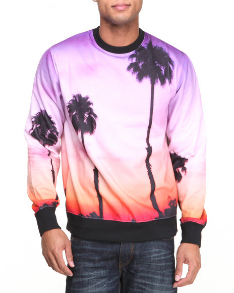 Rocawear - Men Multi Cali Love Crew Sweatshirt