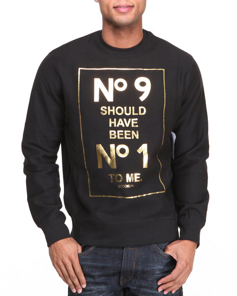 Rocawear Black No 9 Crewneck Sweatshirt
