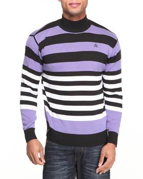 Akademiks - Mock Neck Stripe sweater