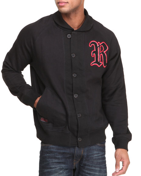 Rocawear Black Crenshaw Cardigan