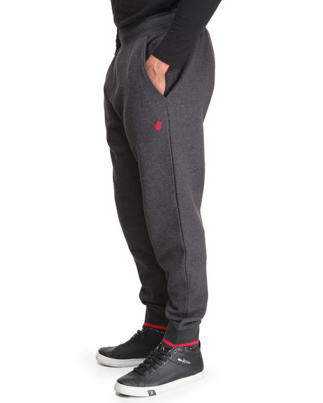 Rocawear - Men Black Nep Tunes Fleece Pants