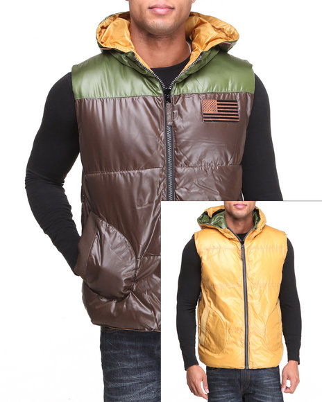 Rocawear Multi Rugged Reversible Vest