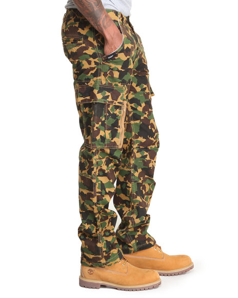 Rocawear Camo Roc Battalion Cargo Pants