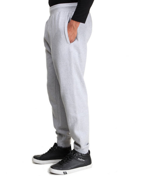 Rocawear - Men Grey Solid Streets Sweatpants