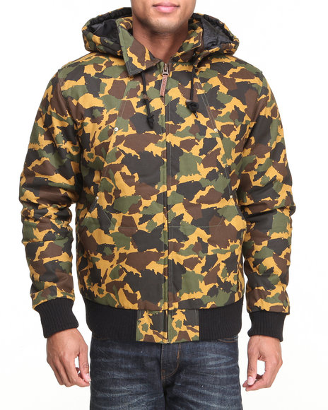 Rocawear Camo Takeover Hooded Jacket